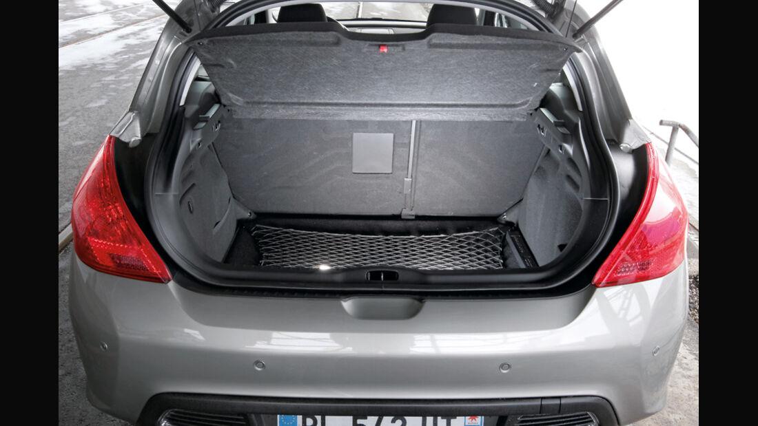 Peugeot 308 Hdi, Kofferraum
