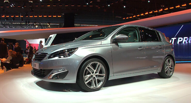 peugeot 308 auf der iaa alte nummer aber neue form auto motor und sport. Black Bedroom Furniture Sets. Home Design Ideas