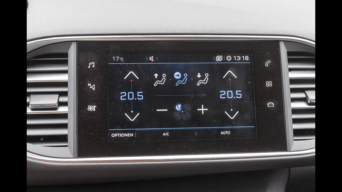 Peugeot 308, Interieur