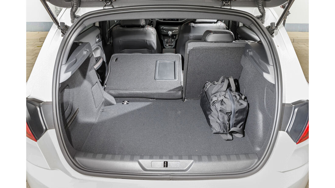 Peugeot 308, Interieur Kofferraum