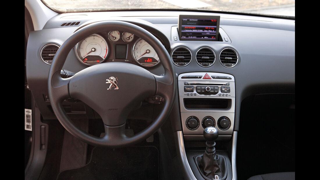 Peugeot 308 Kombi, Cockpit