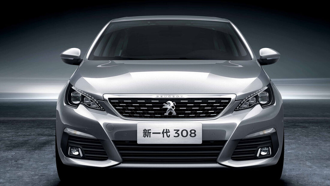 Peugeot 308 Limousine China