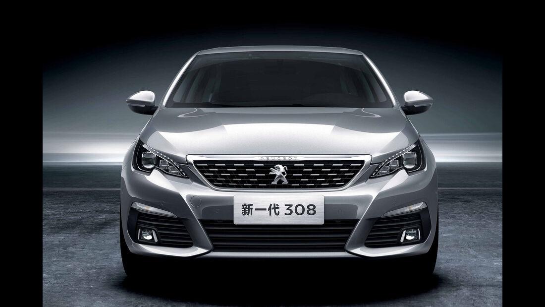 Peugeot 308 Limousine China