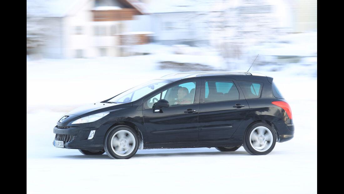 Peugeot 308 SW 100 VTi, Seitenansicht