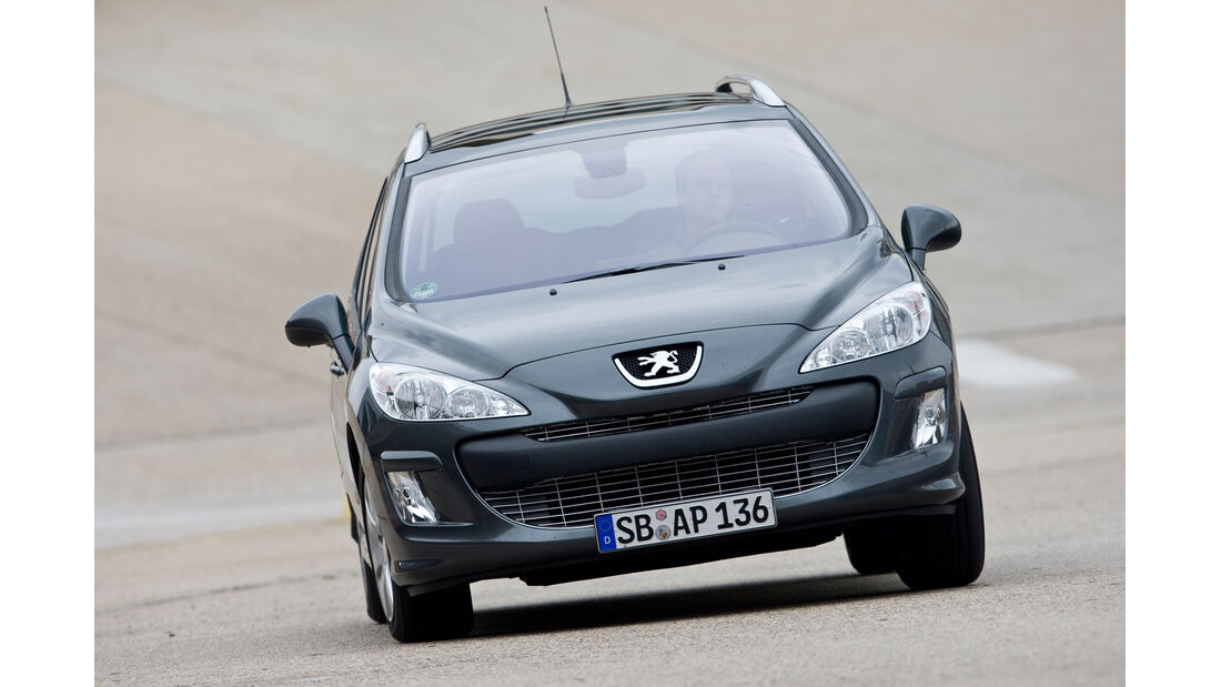 Peugeot 308 SW 120 Vti, Frontansicht