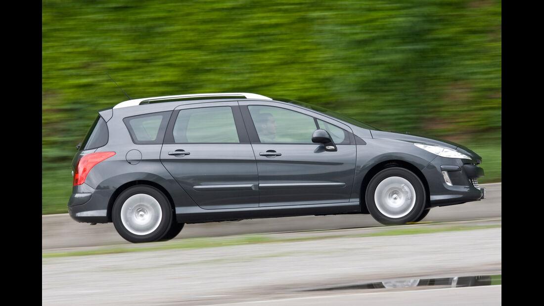 Peugeot 308 SW 120 Vti, Seitenansicht