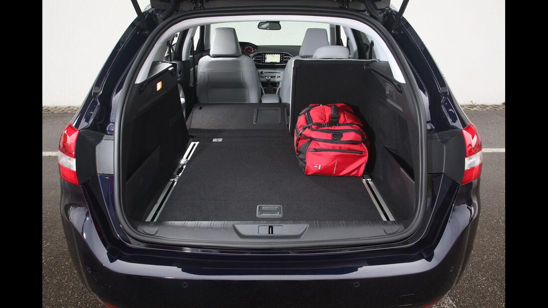 Peugeot 308 SW 130 e-THP 130, Kofferraum, Ladefläche