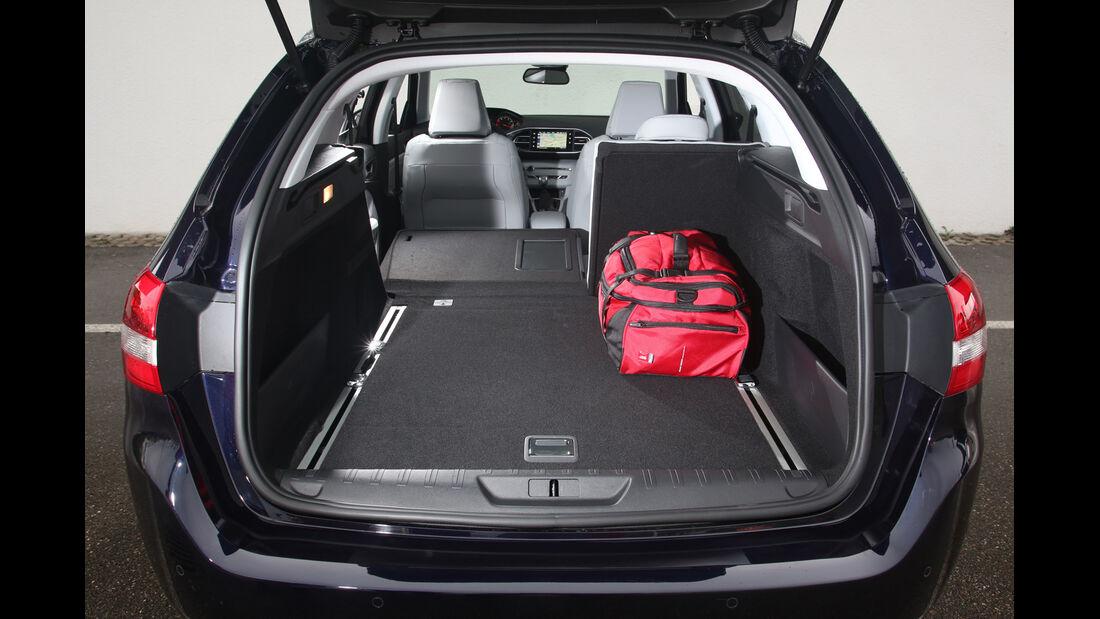 Peugeot 308 SW 130 e-THP, Kofferraum