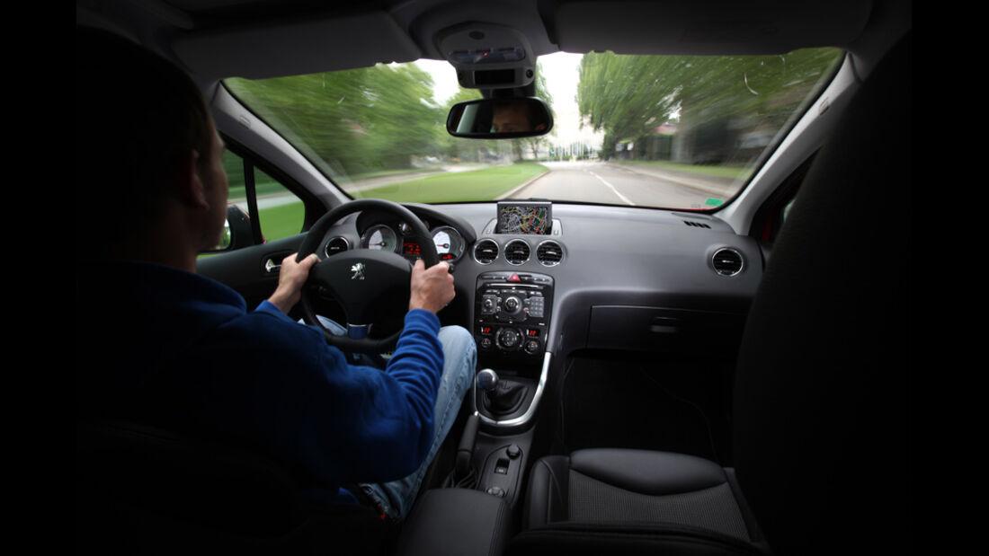 Peugeot 308 SW 155 THP, Cockpit