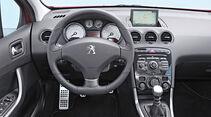 Peugeot 308 SW 155 THP, Cockpit, Lenkrad