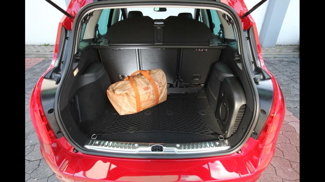 Peugeot 308 SW 155 THP, Kofferraum, Ladefläche
