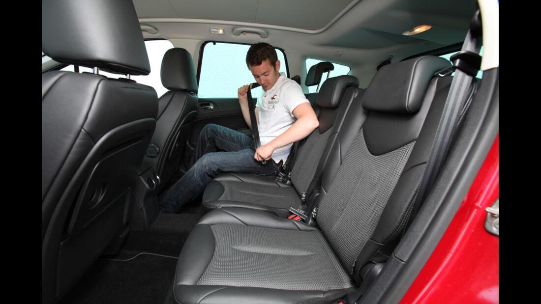 Peugeot 308 SW 155 THP, Rückbank, Sitze hinten
