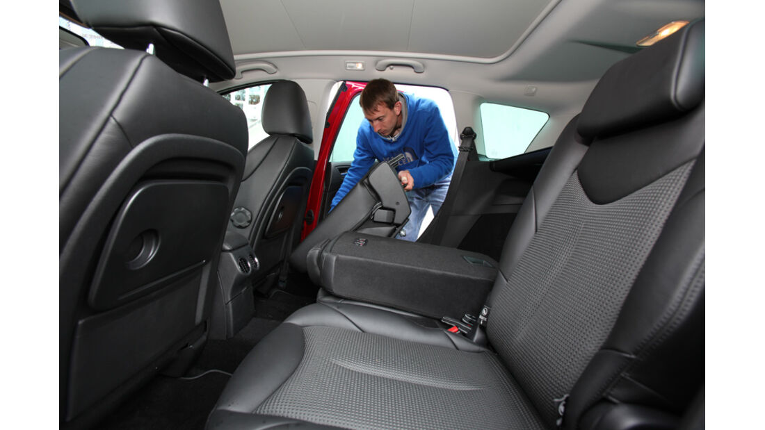 Peugeot 308 SW 155 THP, Rücksitz, umklappbar