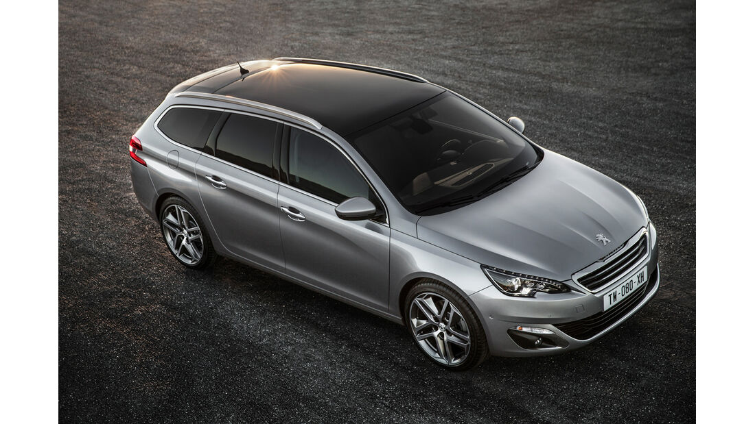 Peugeot 308 SW, Frontansicht