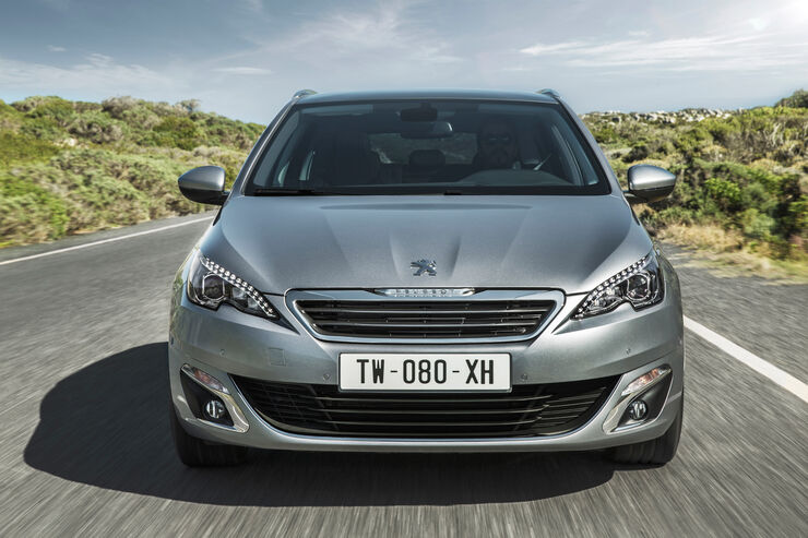Peugeot 308 SW, Frontansicht