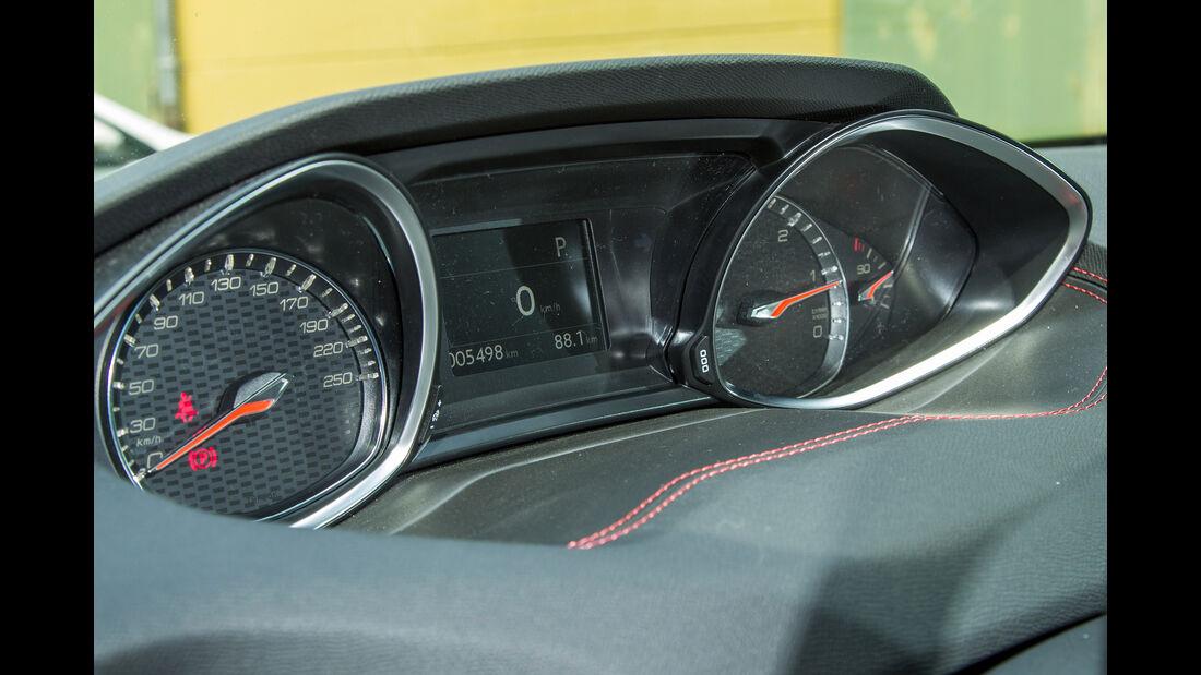 Peugeot 308 SW GT HDi 180, Anzeigeinstrumente