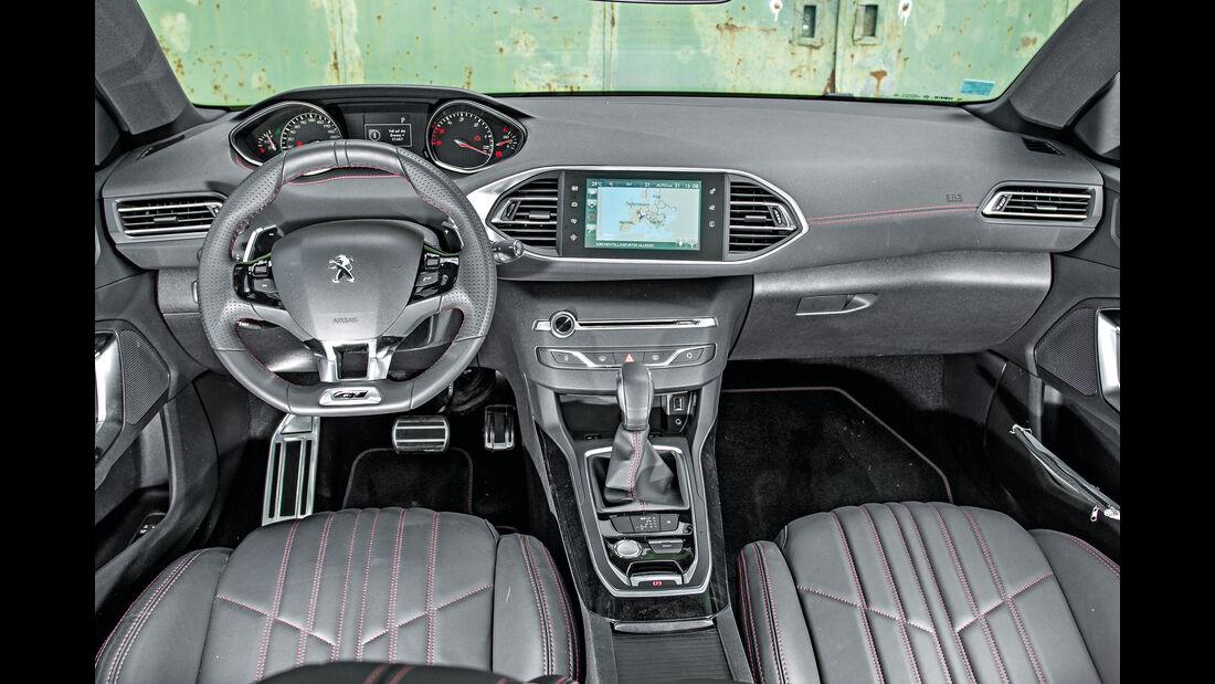 Peugeot 308 SW GT HDi 180, Cockpit