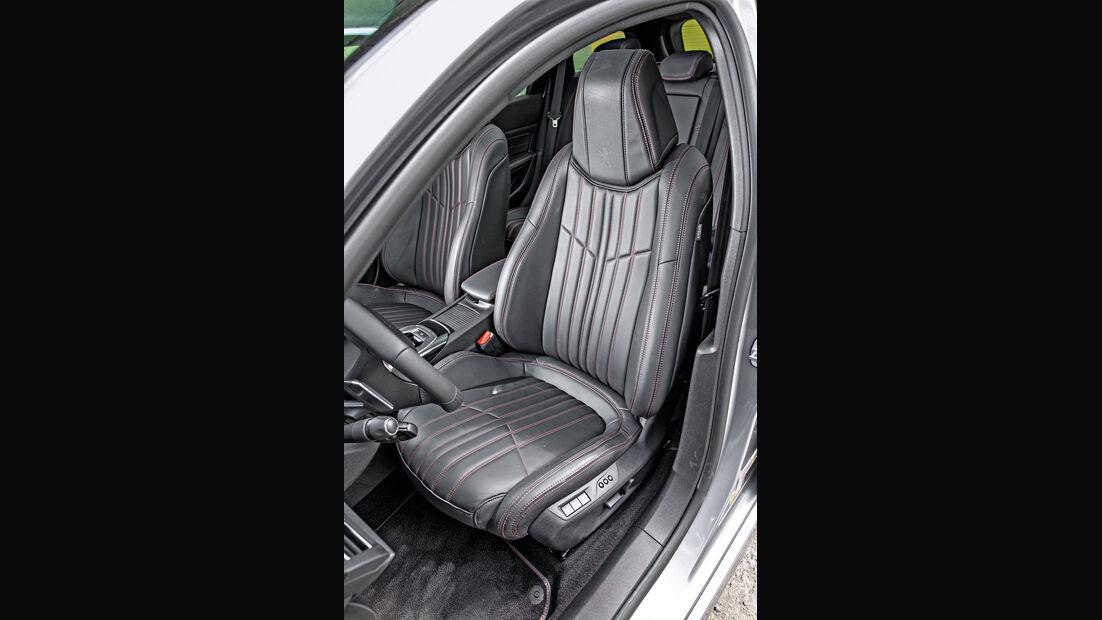 Peugeot 308 SW GT HDi 180, Fahrersitz