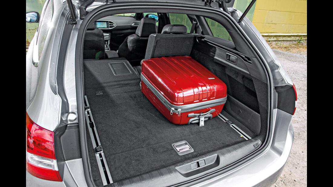 Peugeot 308 SW GT HDi 180, Kofferraum