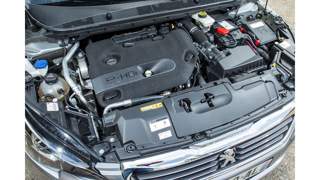 Peugeot 308 SW GT HDi 180, Motor