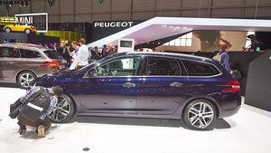 Peugeot 308 SW, Genfer Autosalon, Messe 2014