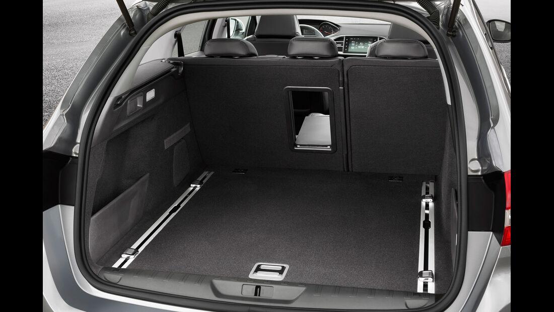 Peugeot 308 SW, Kofferraum