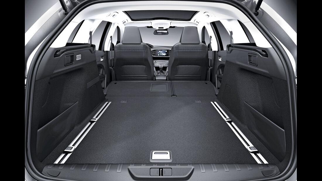 Peugeot 308 SW, Kofferraum, Ladefläche