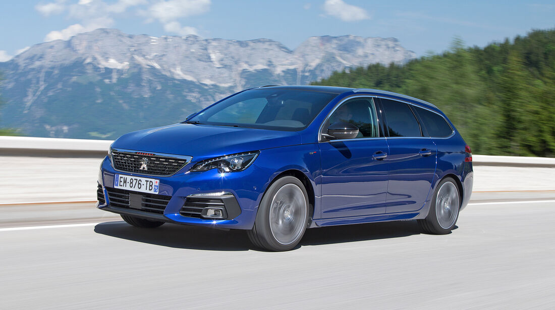 Peugeot 308 SW - Serie - Limousinen bis 50000 Euro - sport auto Award 2019
