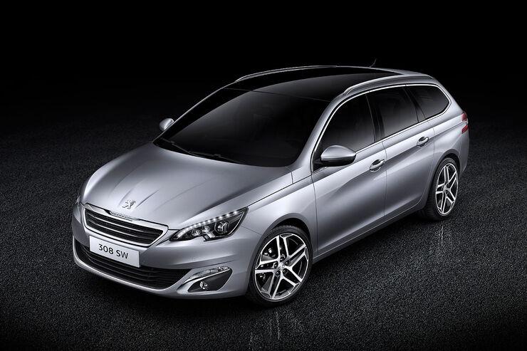 Peugeot 308 SW Sperrfrist 6.1.2014 9.00 Uhr