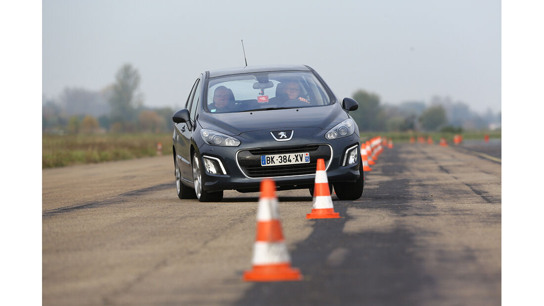 Peugeot 308, Slalom