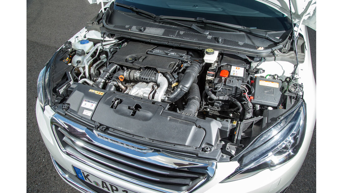 Peugeot 308 e-HDI 115, Motor