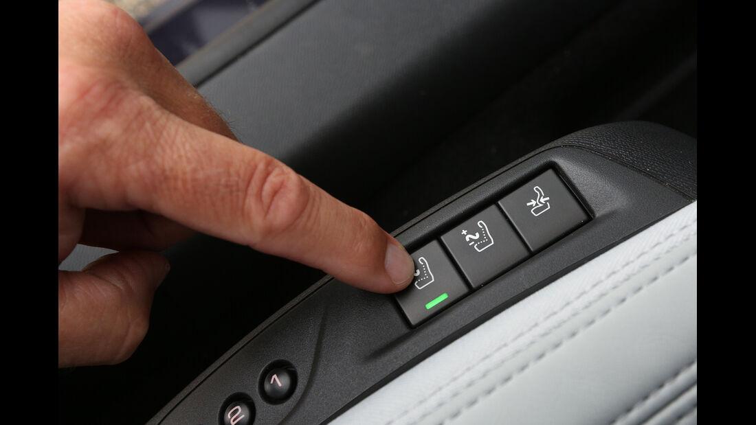 Peugeot 308 e-HDi 115, Bedienelemente