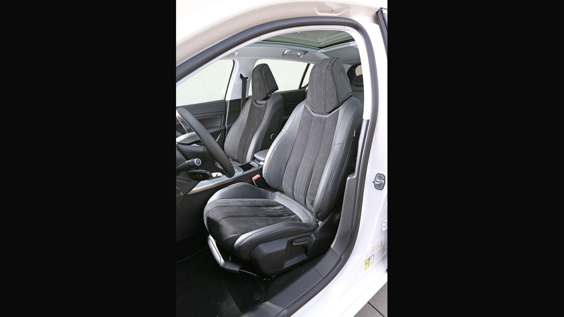 Peugeot 308 e-HDi 115, Fahrersitz