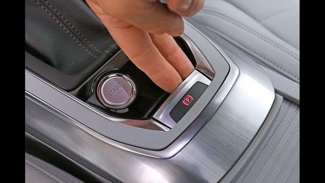 Peugeot 308 e-HDi 115, Feststellbremse