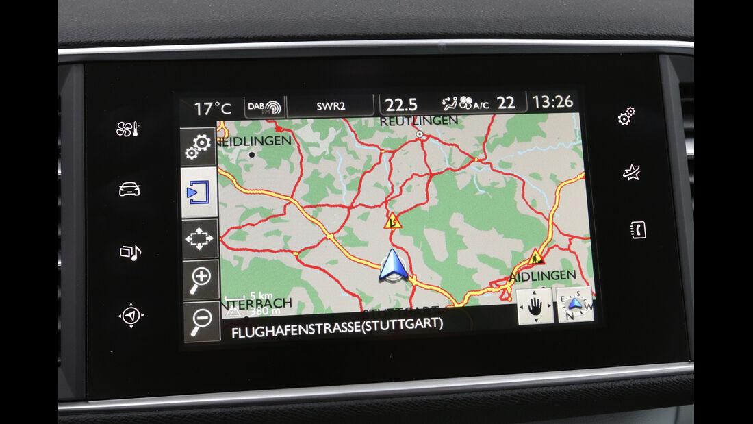Peugeot 308 e-HDi 115, Navi