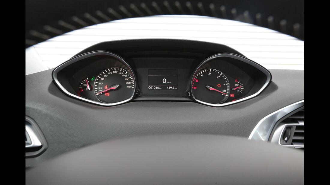 Peugeot 308 e-HDi 115, Rundinstrumente