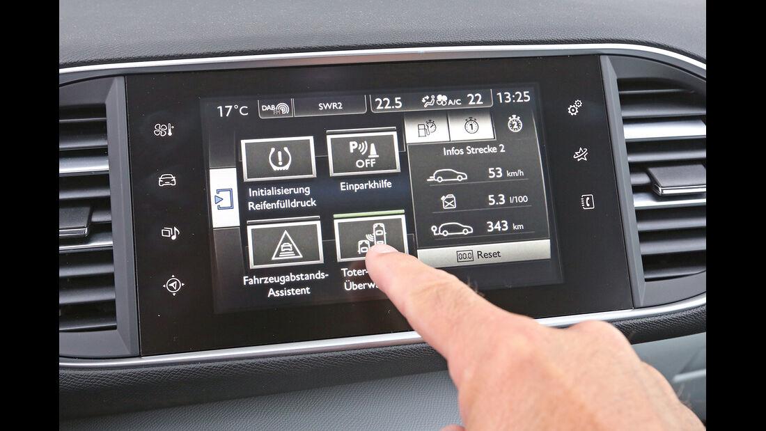 Peugeot 308 e-HDi 115, Touchscreen, Monitor