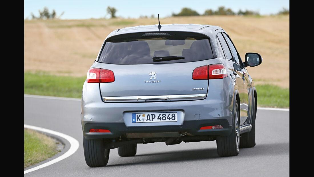 Peugeot 4008 1.8 HDi FAP 150 Allure, Heckansicht