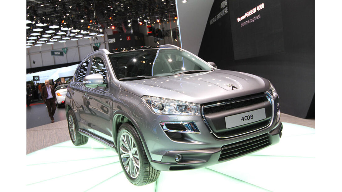 Peugeot 4008 Autosalon Genf 2012, Messe