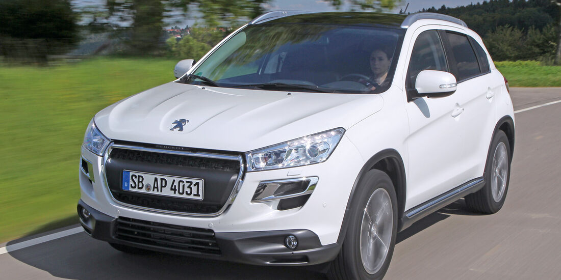 Peugeot 4008, Frontansicht