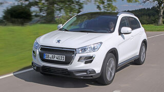 Peugeot 4008 HDi 115 Allure, Frontansicht