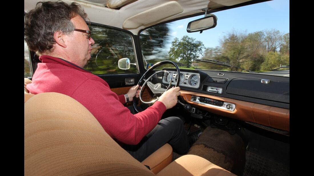 Peugeot 404, Cockpit, Alf Cremers