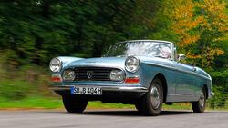 Peugeot 404, Frontansicht