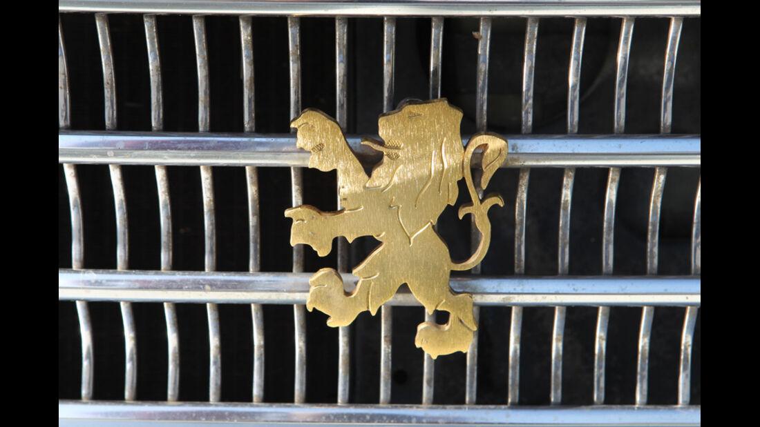 Peugeot 404, Kühlergrill
