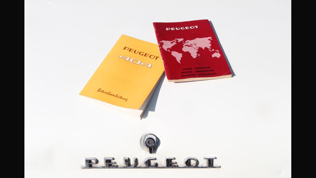 Peugeot 404, Papiere