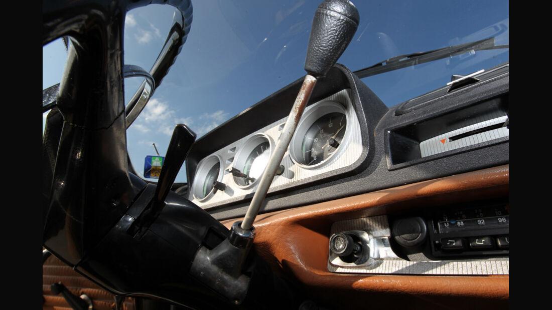Peugeot 404, Schalthebel