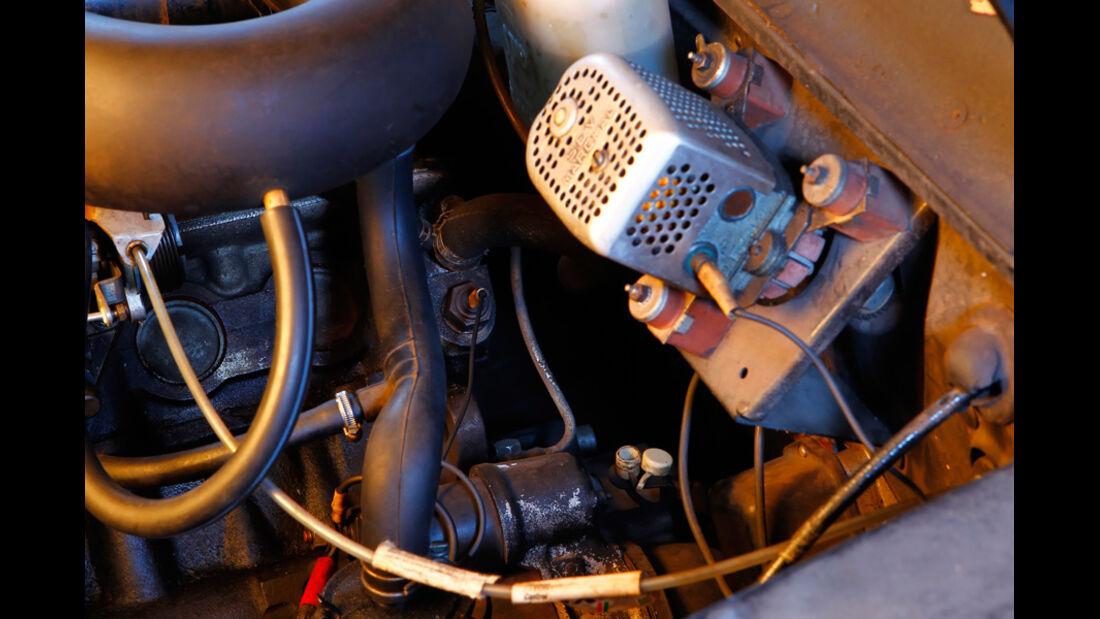 Peugeot 404, Schmierung, Graphitlager