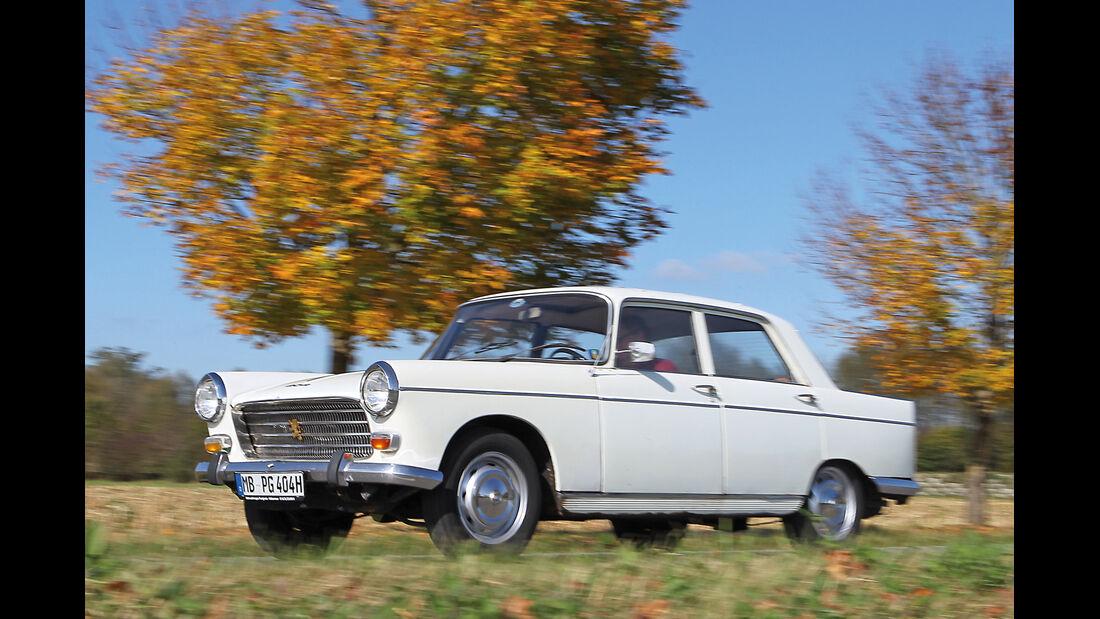 Peugeot 404, Seitenansicht