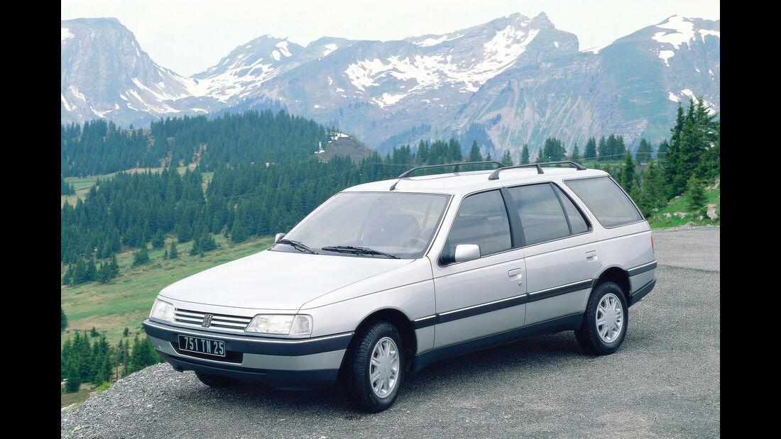 Peugeot 405 Break silber 1988