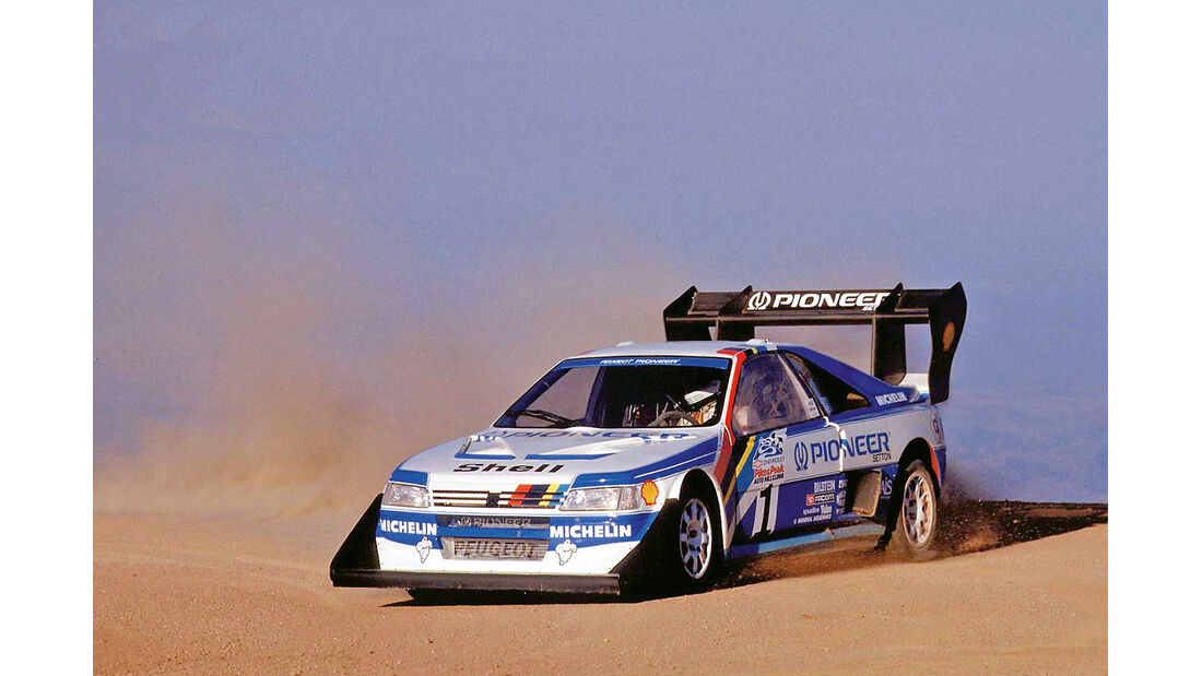 Peugeot 405 Turbo 16, Pikes Peak